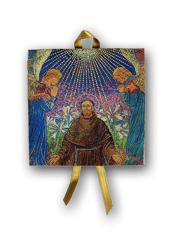 Św. Franciszek - Mozaika 10 cm