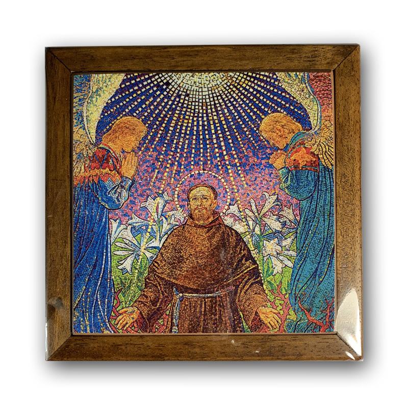 Św. Franciszek - Mozaika 18,5 cm
