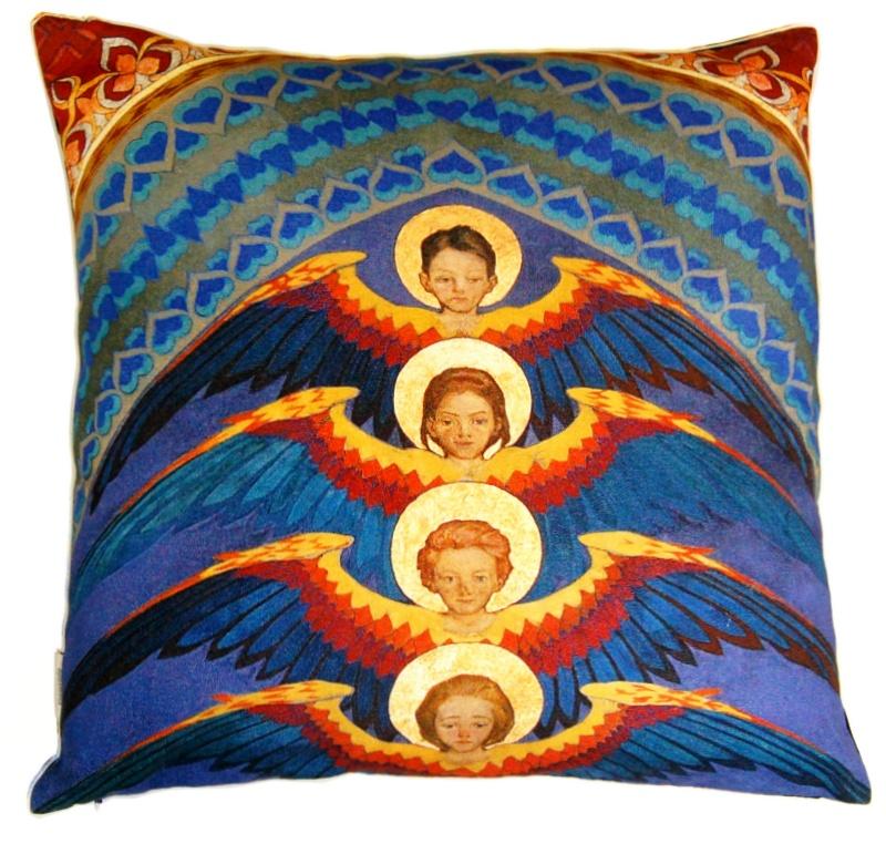 Poszewka na poduszkę - Anioły