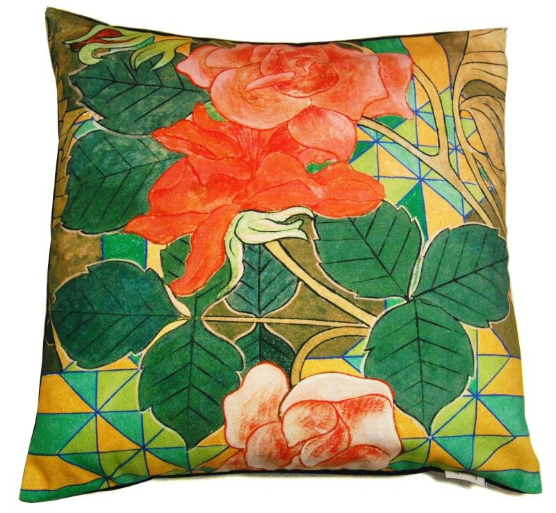 Poszewka na poduszkę - Róże