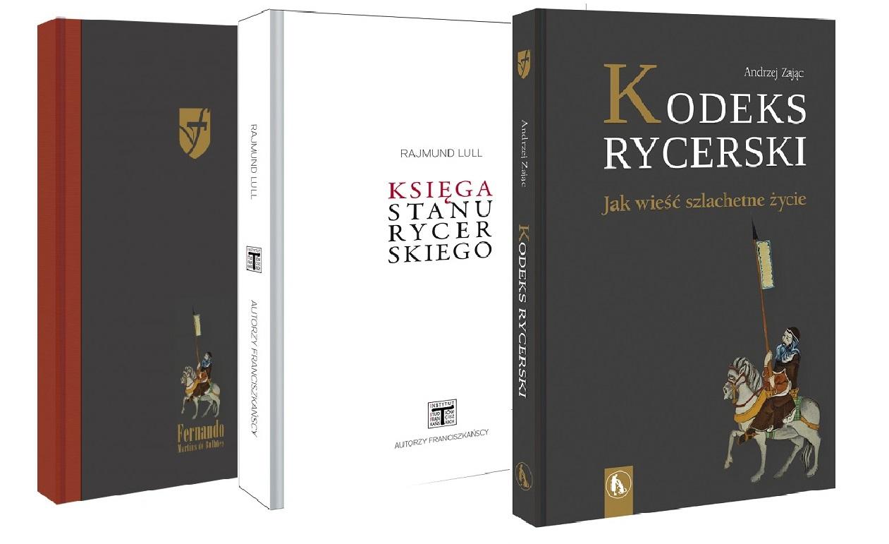 Zestaw: Księga stanu rycerskiego, Kodeks rycerski, Notatnik rycerski