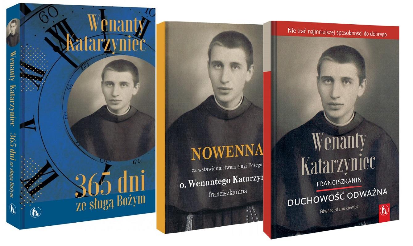 Zestaw: Wenanty Katarzyniec. 365 dni ze sługą Bożym; Duchowość odważna; Nowenna