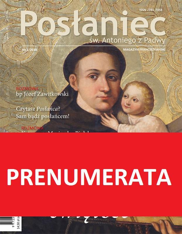 Posłaniec św. Antoniego - prenumerata roczna